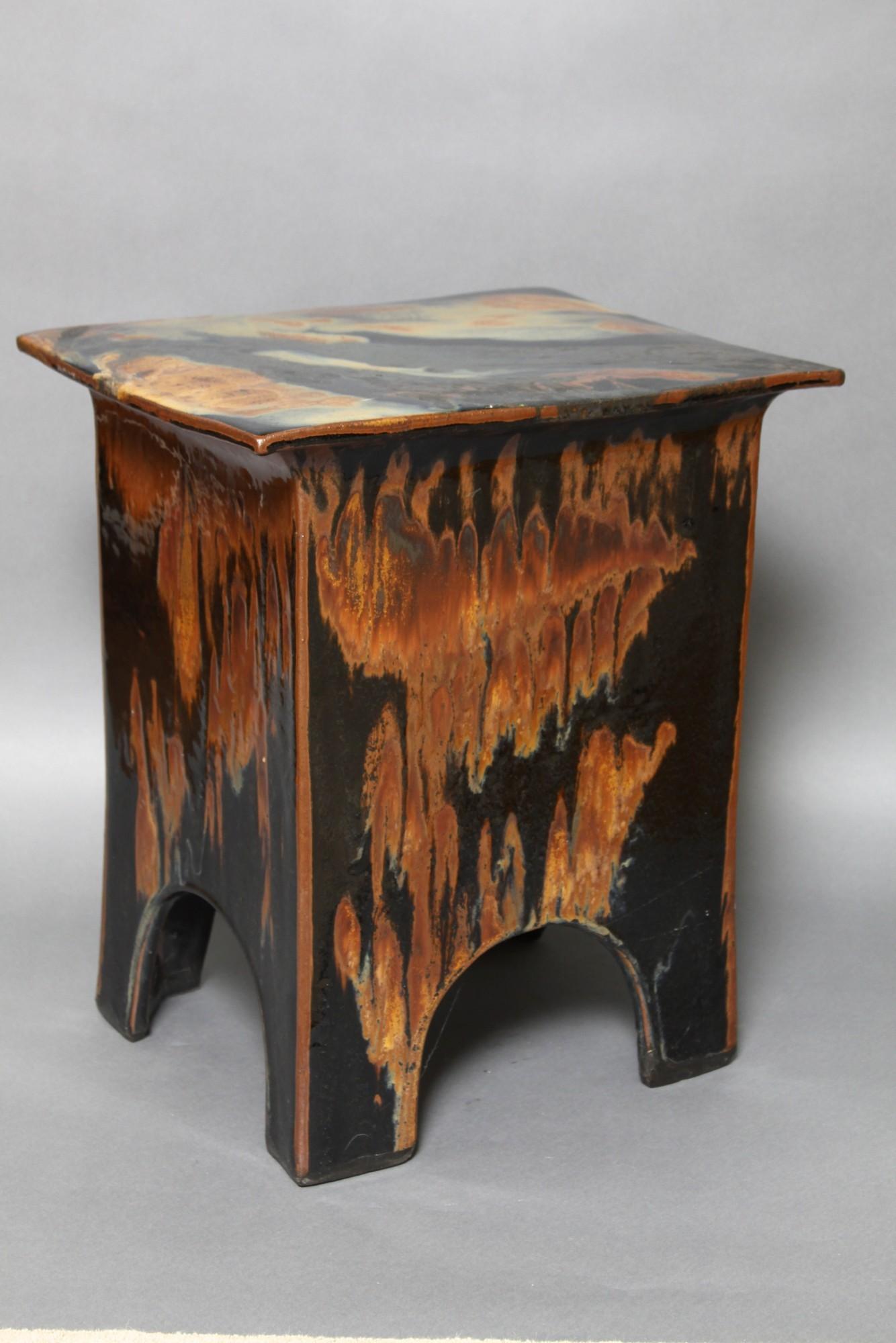 Eric O Leary Glazed Ceramic Side Table 3 Catalog